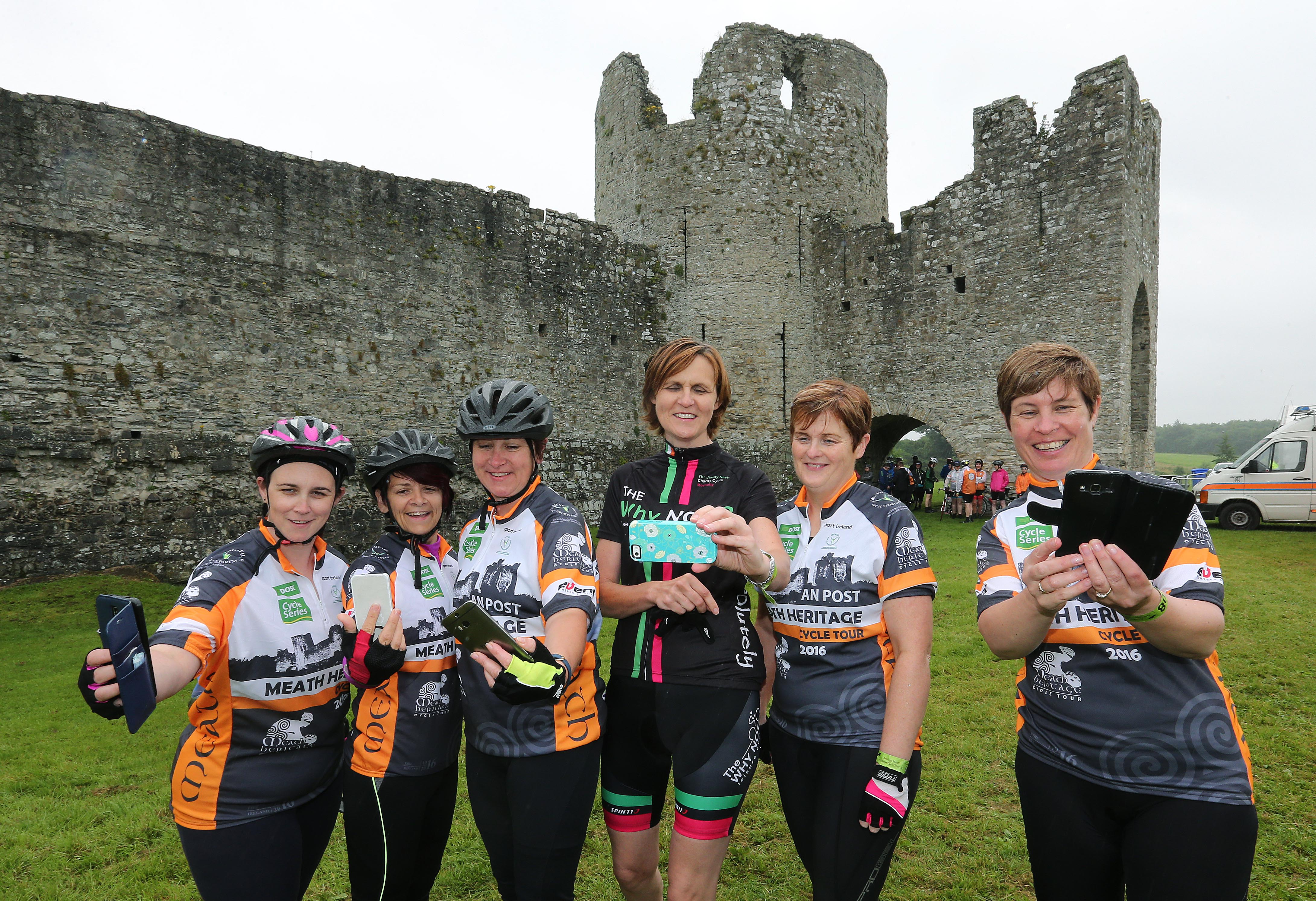 PRESS RELEASE..NO REPRODUCTION FEE…..  An Post Meath Heritage Cycle 24/7/2016 The Why Not Cycling club at the start in Trim Pic Lorraine O'Sullivan  PRESS RELEASE..NO REPRODUCTION FEE…..