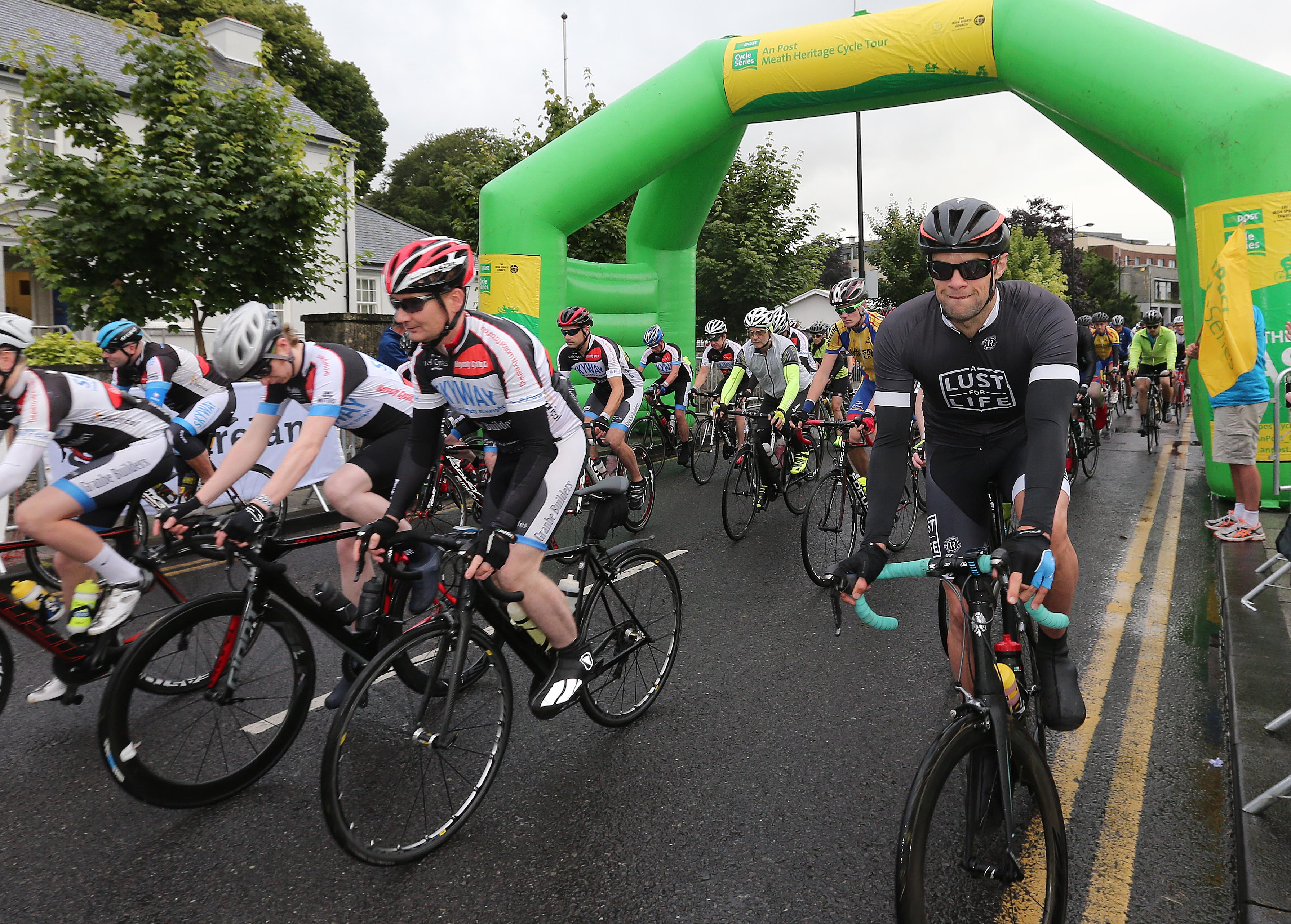 PRESS RELEASE..NO REPRODUCTION FEE…..  An Post Meath Heritage Cycle 24/7/2016 Bressie at the start of todays cycle 160km cycle Pic Lorraine O'Sullivan  PRESS RELEASE..NO REPRODUCTION FEE…..