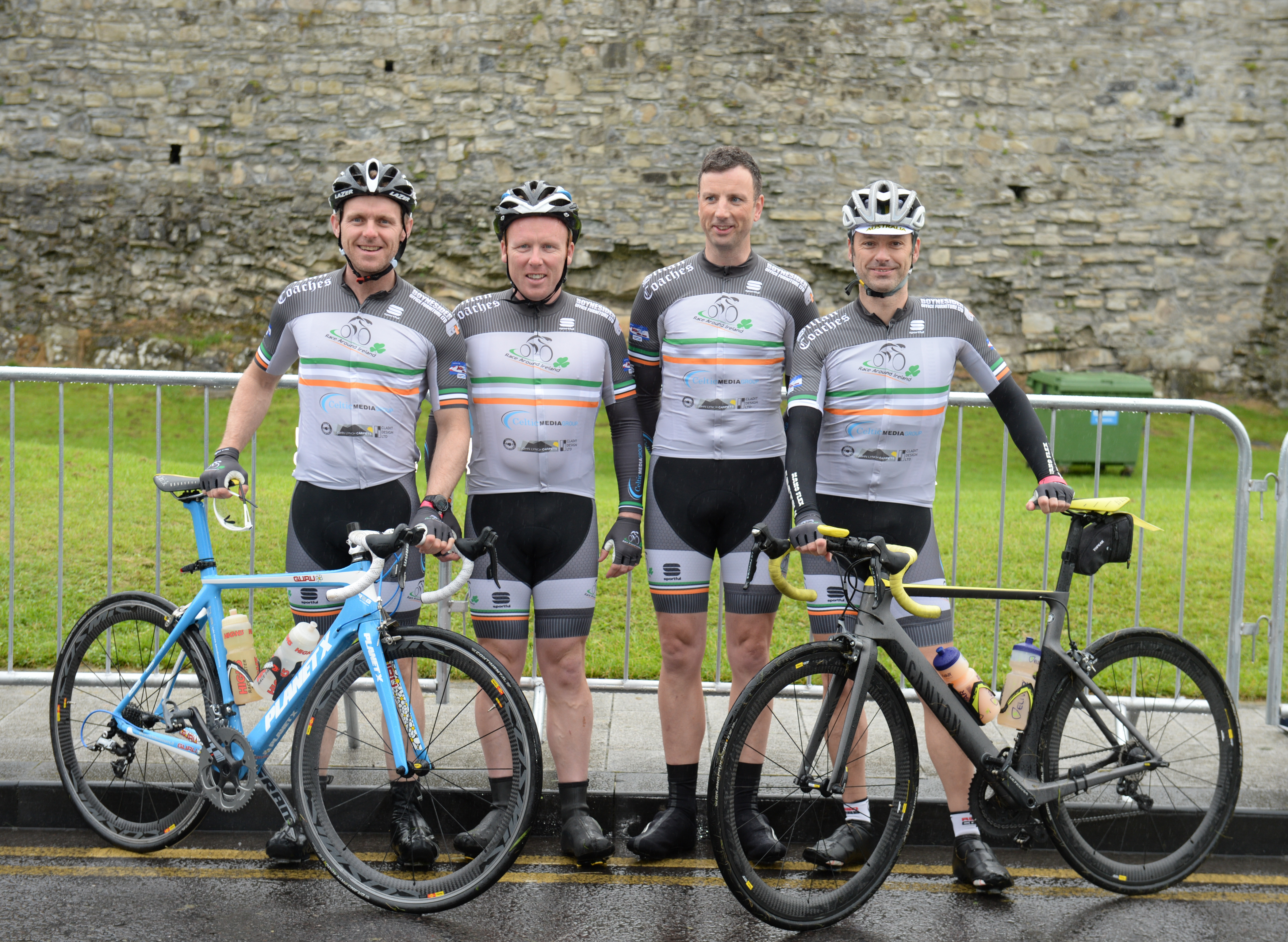 Barry Gaynor, Brendan Roe, Michael Mills and Dave Elson