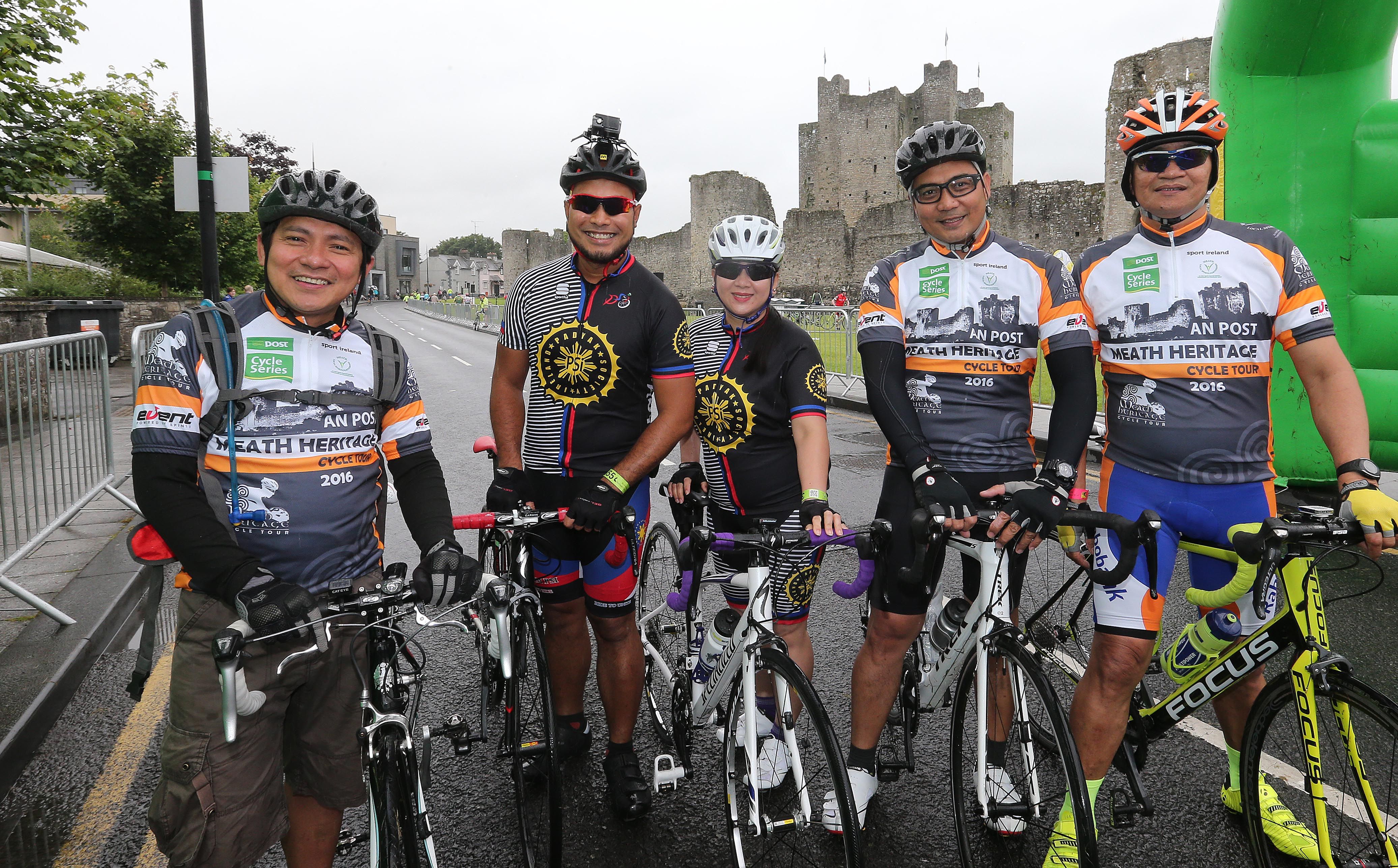 An Post Meath Heritage Cycle 24/7/2016 Pic Lorraine O'Sullivan