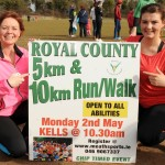 Operation Transformation leaders – Noeleen Lynam and Lucy Dillon launching the Royal County event 2016