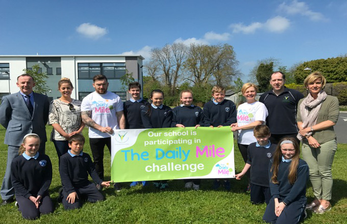 Local Celebs launch the Daily Mile! For more information, click here.